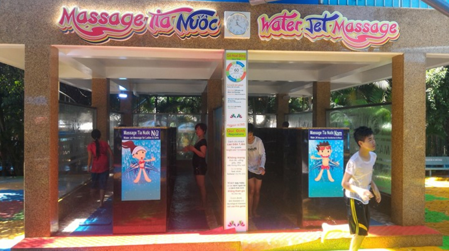 Massage Tia nước