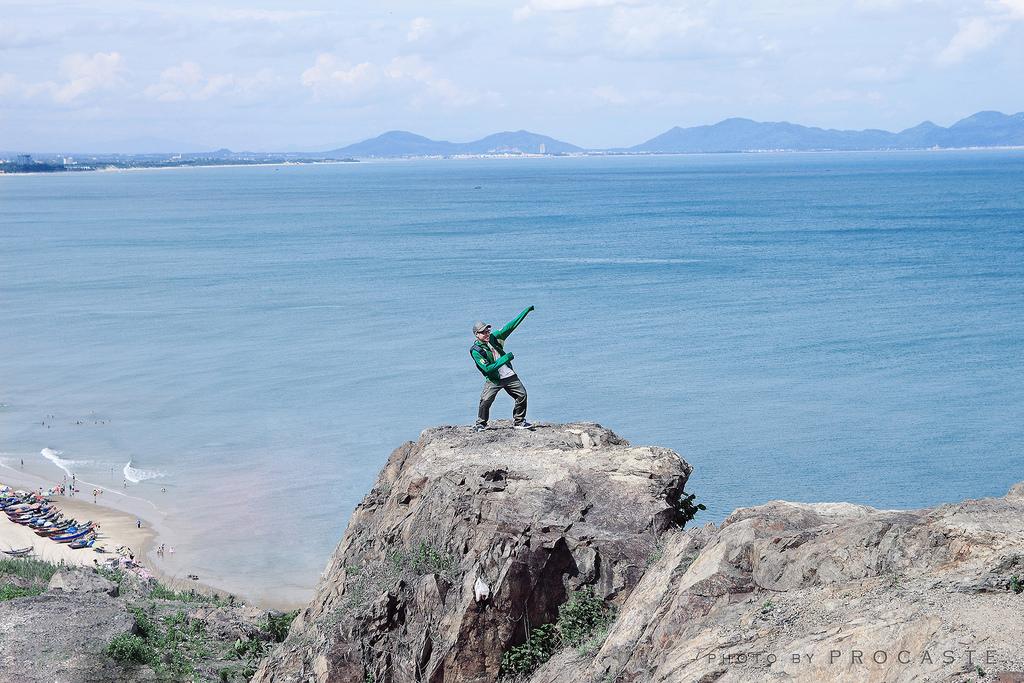 Địa điểm chụp ảnh đẹp trên đồi Con Heo (Nguồn sưu tầm)