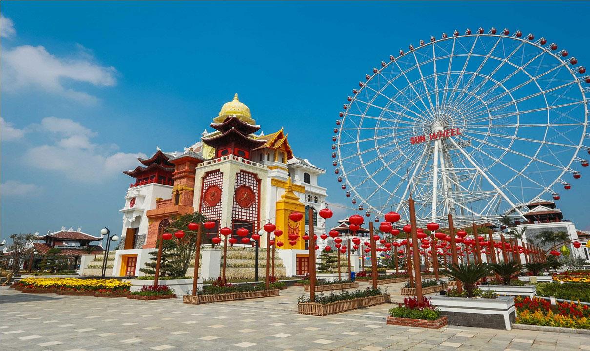 Điểm du lịch Đà Nẵng - Công viên Asia Park