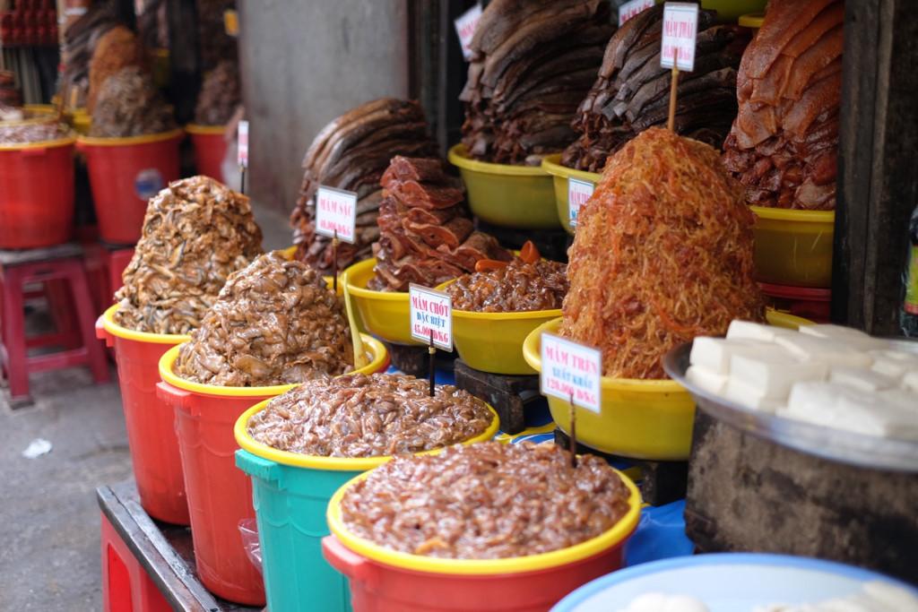 Mắm chợ Châu Đốc (Ảnh: ST)