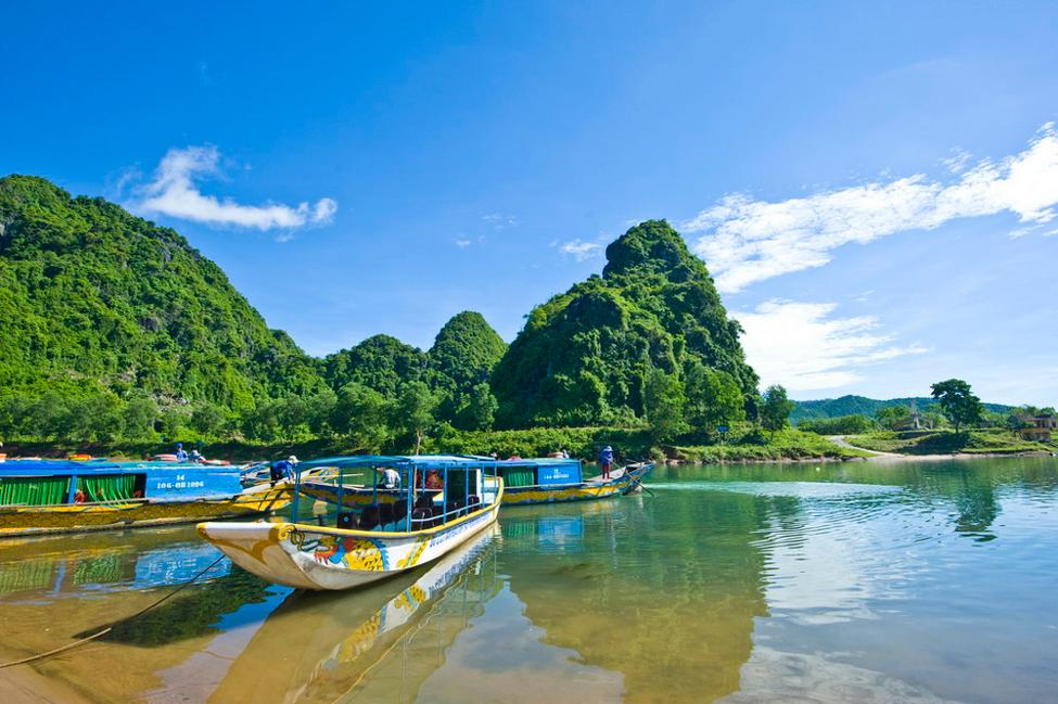 Một góc địa điểm du lịch Quảng Bình