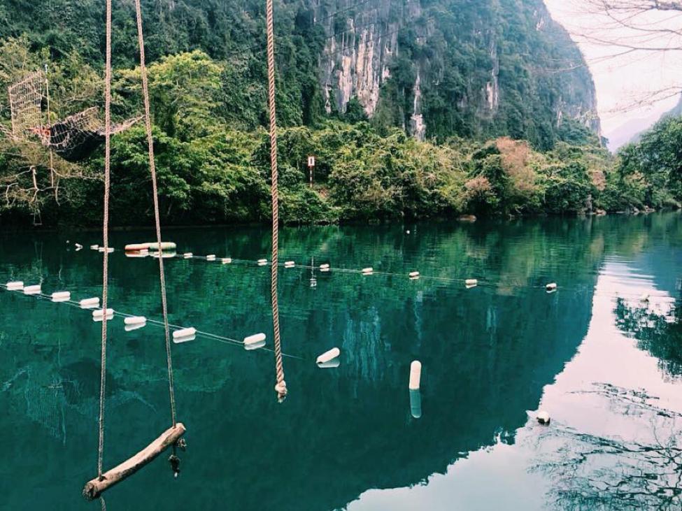 du lịch quảng bình: suối nước mọoc
