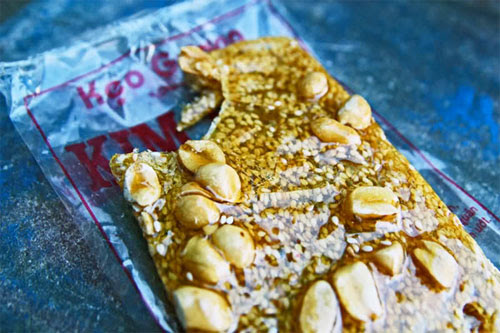 Kẹo gương đậu phộng thơm ngon (Nguồn sưu tầm)