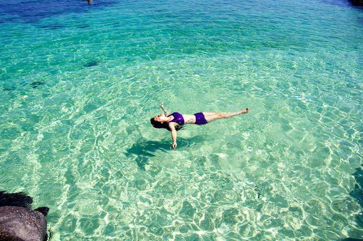 Biển xanh ngắt lý sơn (Nguồn sưu tầm)