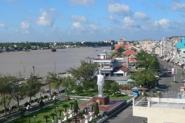 Du lịch Cần Thơ Bến Ninh Kiều ban ngày (nguồn sưu tầm)