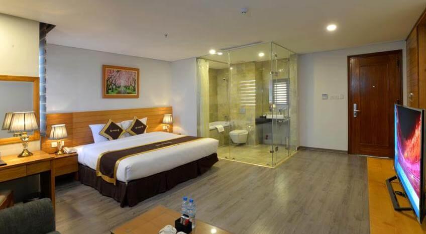 London Hanoi Hotel có vị trí rất thuận tiện để bạn dễ dàng du lịch ở Hà Nội