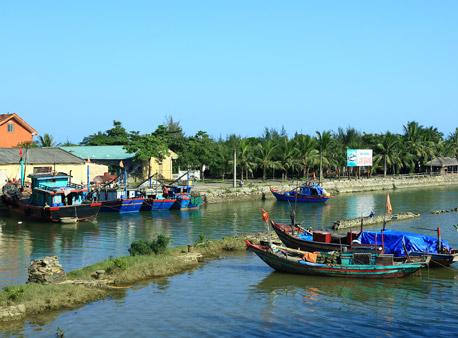 địa điểm du lịch nghệ an: biển cửa hội