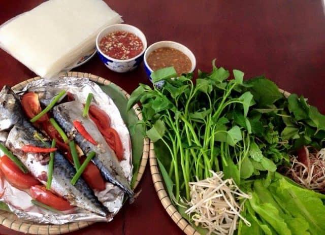 ẩm thực phong phú ở ghềnh đá đĩa