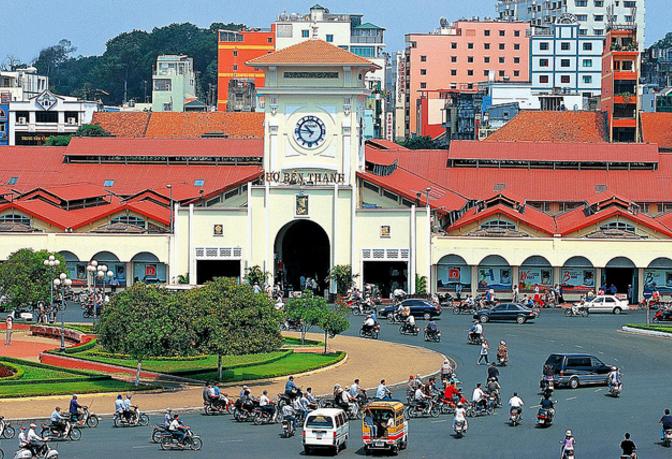 Kết quả hình ảnh cho chợ bến thành