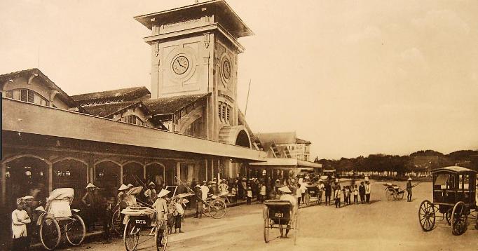Chợ Bến Thành thời kỳ xa xưa