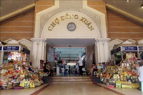 phố cổ Hà Nội - chợ Đồng Xuân
