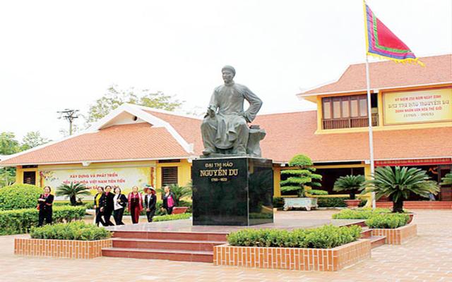 Khu lưu niệm Đại Thi Hào Nguyễn Du