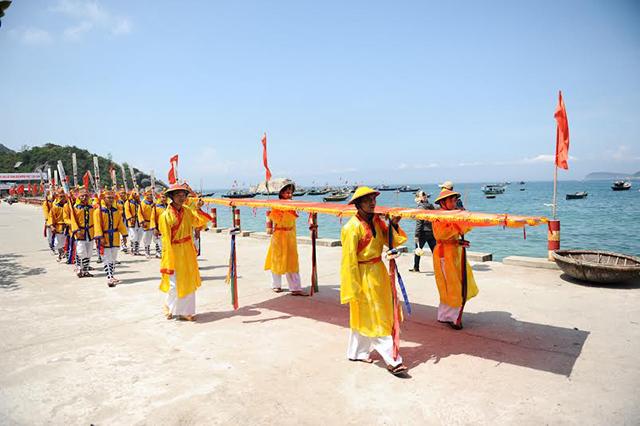 Lễ hội truyền thống ở Cù Lao Chàm (Ảnh: Sưu tầm)