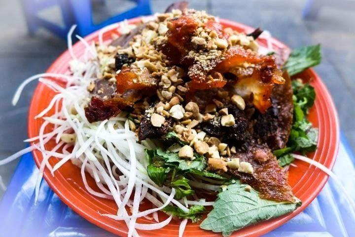 Món ngon Hà Nội: Nộm bò khô
