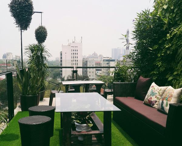 quán cafe đẹp hà nội terrace cafe