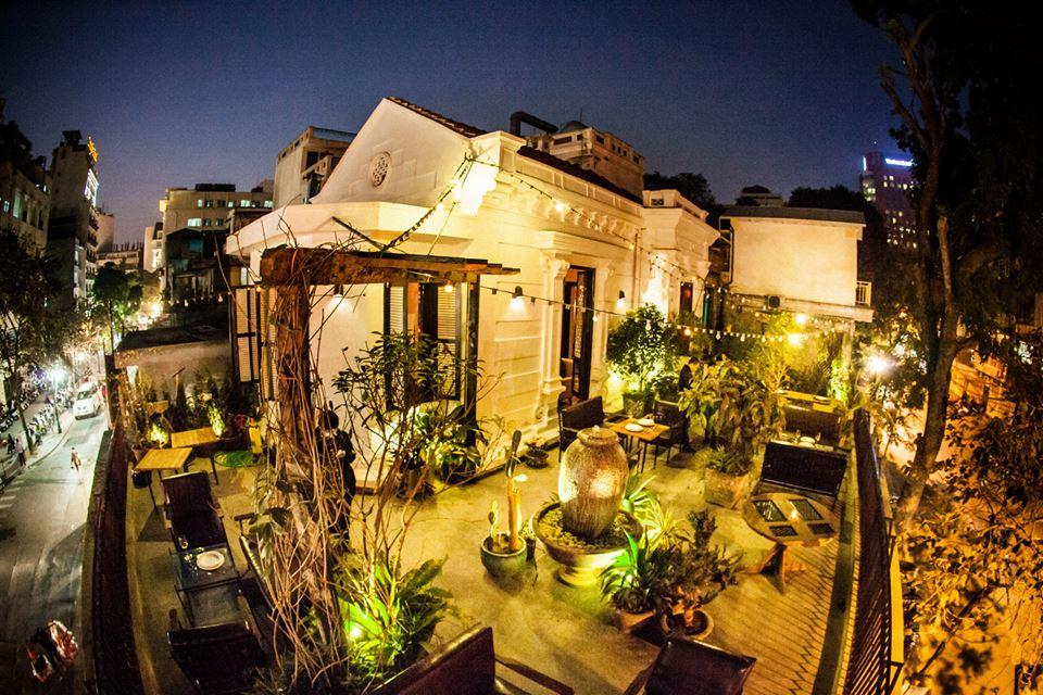 quán cafe đẹp ở hà nội - terrace cafe