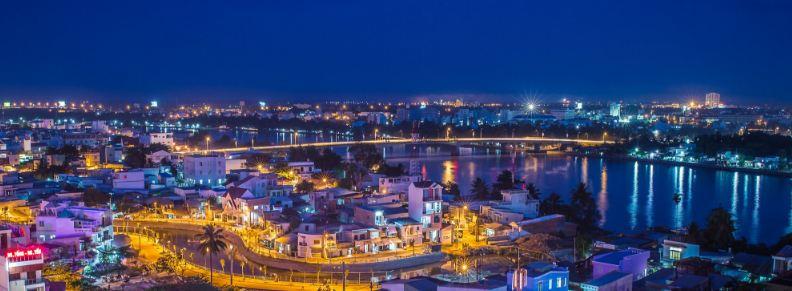 Hình ảnh thành phố Cần Thơ từ trên cao (Ảnh sưu tầm)