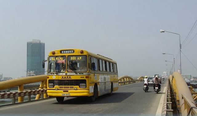 Tuyến xe buýt Đà Nẵng - Hội An mới được đưa vào hoạt động để phục vụ cho du lịch (Ảnh: Sưu tầm)