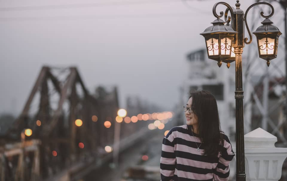 The angle of shooting makes us dream about Hanoi in the old days