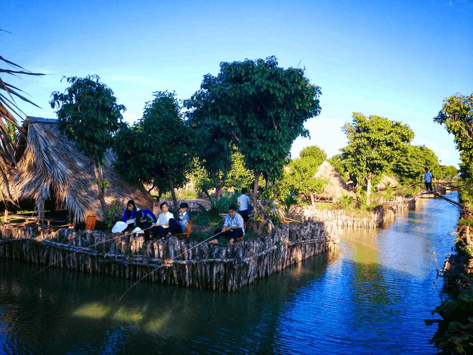 Khu vực câu cá (Ảnh: Sưu tầm)