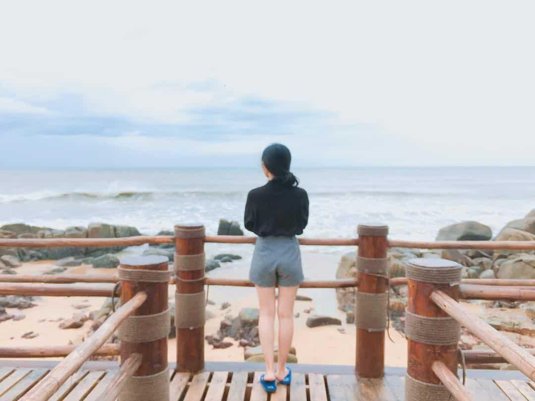 Những góc chụp đẹp như ở Hàn Quốc tại Đèo Nước Ngọt núi Minh Đạm (Ảnh: ST)