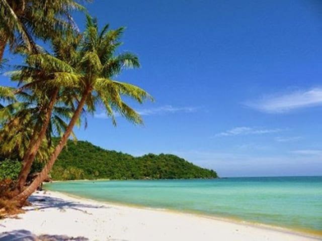 Bãi biển Mũi Nai thơ mộng - Địa điểm du lịch thu hút của Hà Tiên(Ảnh sưu tầm )