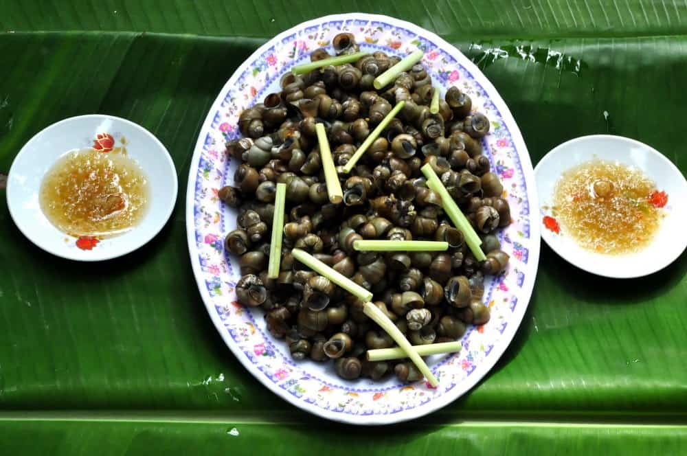 Món ốc gạo sẽ làm bạn ăn một lần nhớ cả đời (Ảnh: ST)