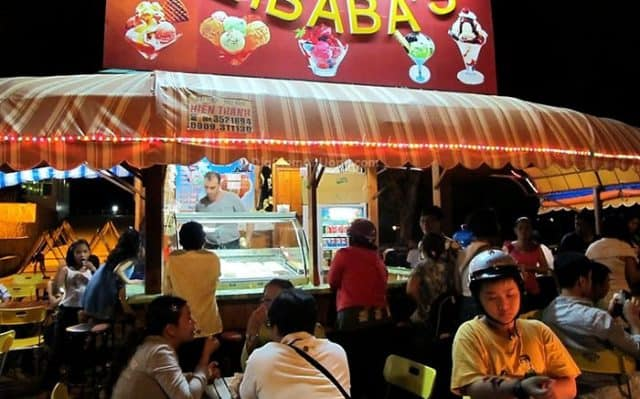 Quán kem Alibaba ở Vũng Tàu