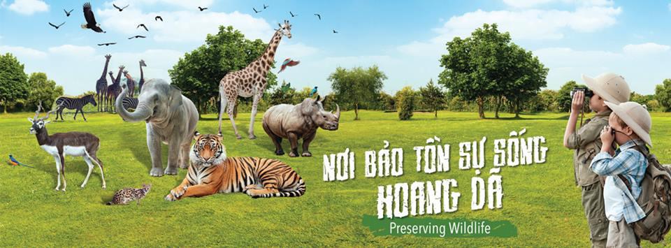 Khu du lịch Vinpearl Safari (Ảnh: ST)