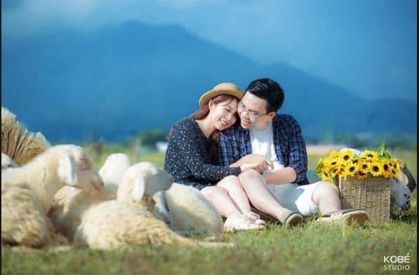 """Nông trại cừu ở Vũng Tàu là một trong điểm chụp ảnh cưới """"hot"""""""