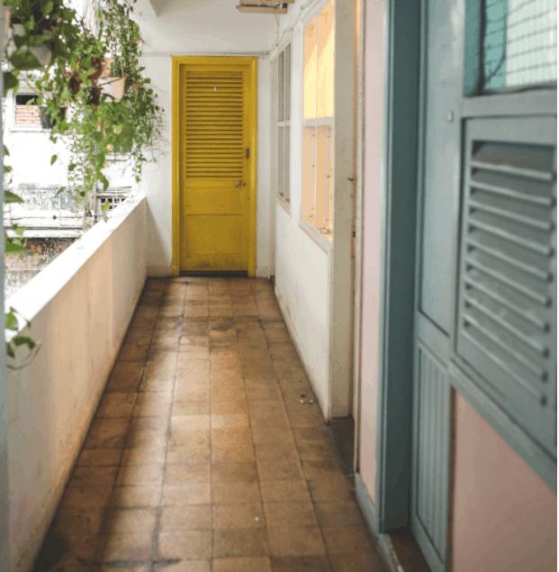 Khám phá các ngóc ngách khu chung cư