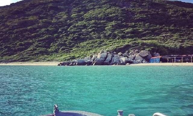 Biển bãi Dứa Vũng Tàu êm đềm(Ảnh sưu tầm)
