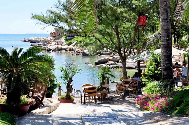 cafe Hòn Chồng - những quán cafe đẹp ở nha trang