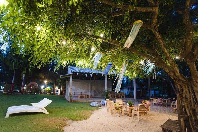 Khu cắm trại nổi tiếng ở kdl đèo Nước Ngọt (Ảnh: ST)