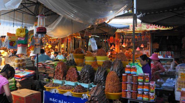 Đặc sản nổi tiếng khu chợ Hà Tiên (Ảnh sưu tầm)
