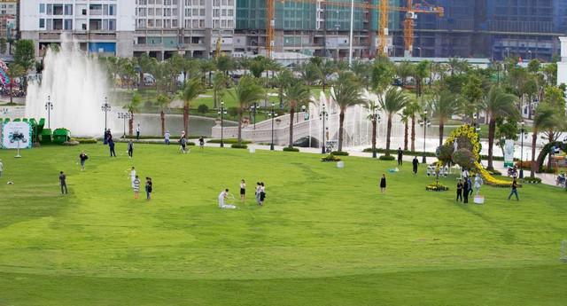 Những bãi cỏ xanh rờn này cũng là một điểm nghỉ ngơi lí tưởng đó chứ (Ảnh: Sưu tầm)