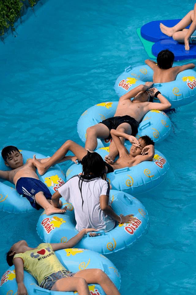 Là một địa điểm thu hút công viên nước Hồ Chí Minh này