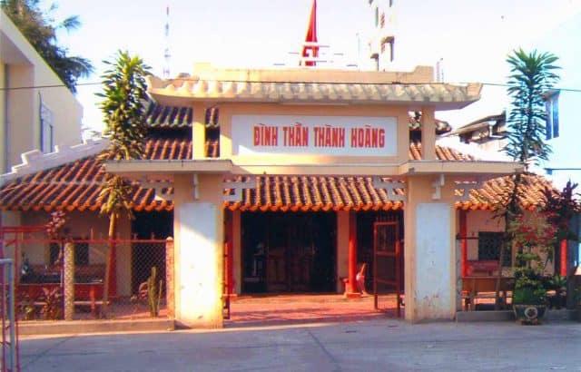 Đình thần Thành Hoàng , thị xã Hà Tiên, tỉnh Kiên Giang (Ảnh sưu tầm)