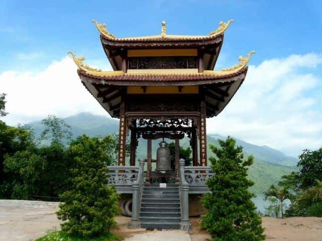 Gác chuông ở Thiền viện Trúc Lâm Bạch Mã