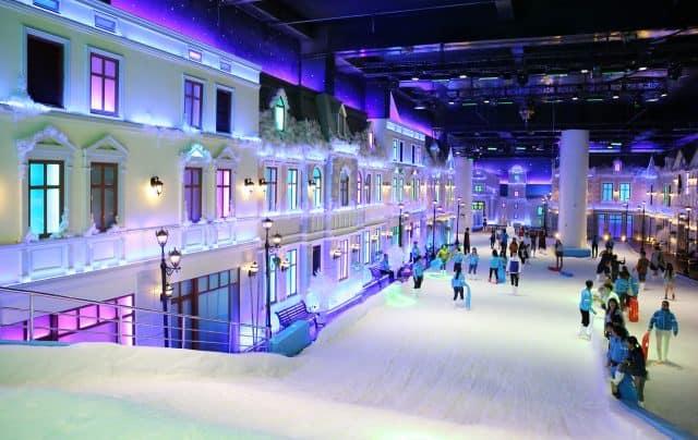 Nhà tuyết quận 2 - Snow Town Sài Gòn
