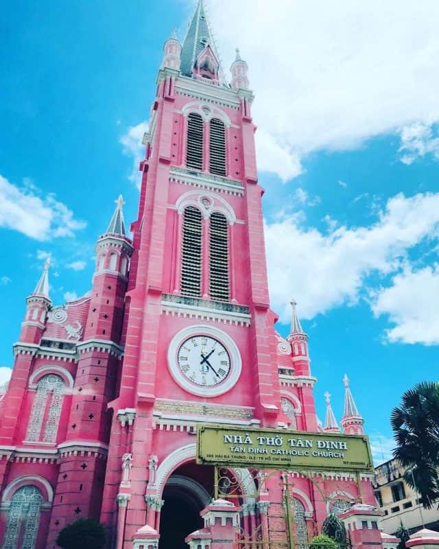 Nhà thờ Tân Định, Quận 3, Thành phố Hồ Chí Minh