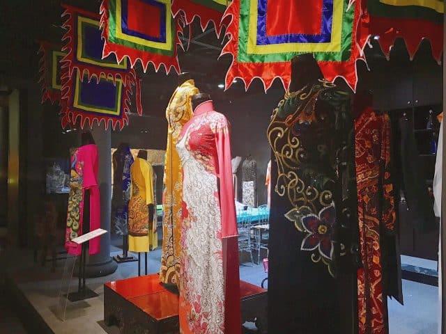 Là bảo tàng áo dài Việt Nam nổi tiếng