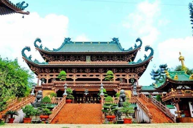 Chính địa tại Chùa Minh Thành. (Ảnh ST)