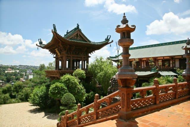 Một vẻ đẹp khác của Chùa Minh Thành. (Ảnh ST)