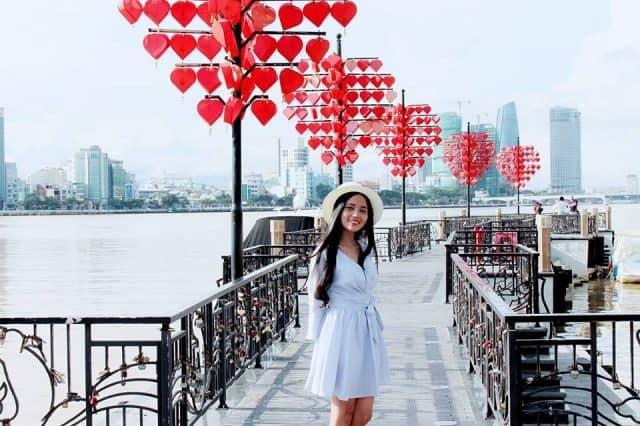 Cầu khóa tình yêu Đà Nẵng 05