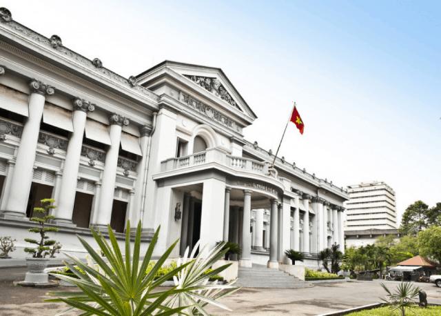 Một góc bảo tàng thành phố HCM