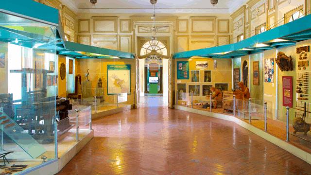 Bên trong bảo tàng ở thành phố Hồ Chí Minh (Ảnh: Sưu tầm)