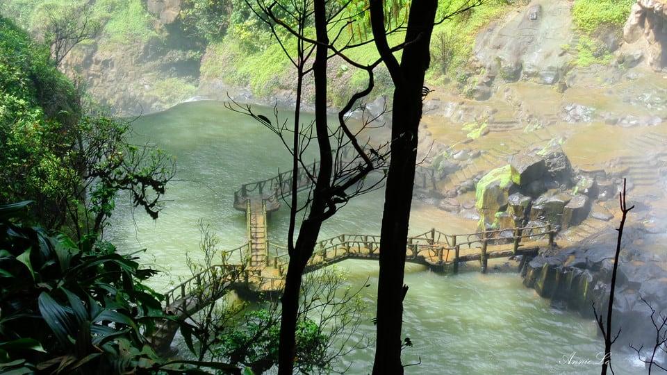 Khung cảnh thần tiên tại Thác Dam'bri Đà Lạt