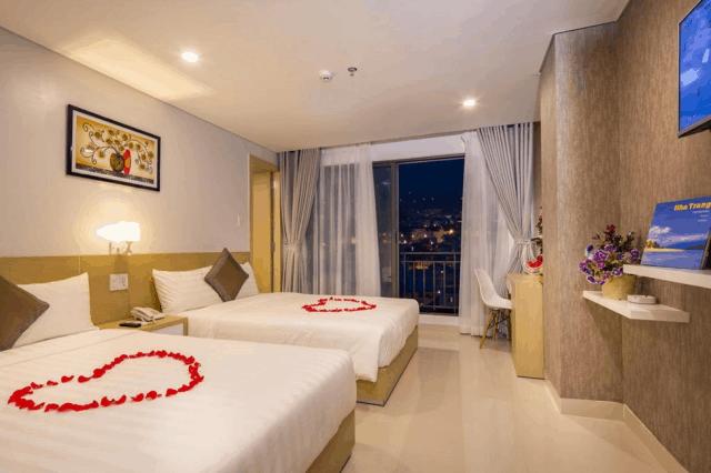 ở khách sạn love hotel khi du lịch tự túc ở nha trang