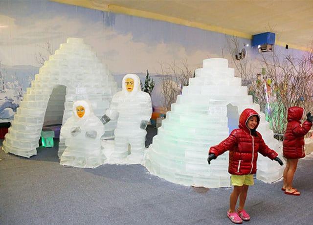 Ngôi nhà băng của người Eskimo